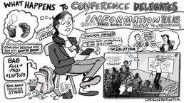 How Graphic Recording influences delegates