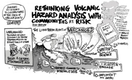 A Graphic Recording of a Volcano